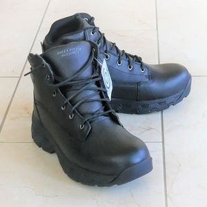 NWT Skechers Relaxed Fit Men's Waterproof Boots